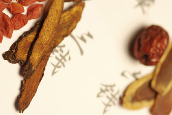 Chinese herbal medicine drying process